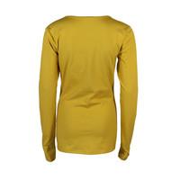 Longlady Shirt Trudy Geel
