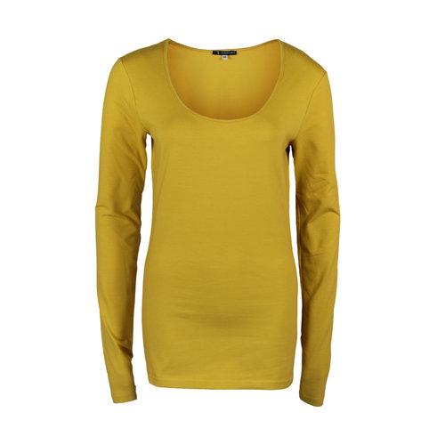 Longlady Longlady Shirt Trudy Geel
