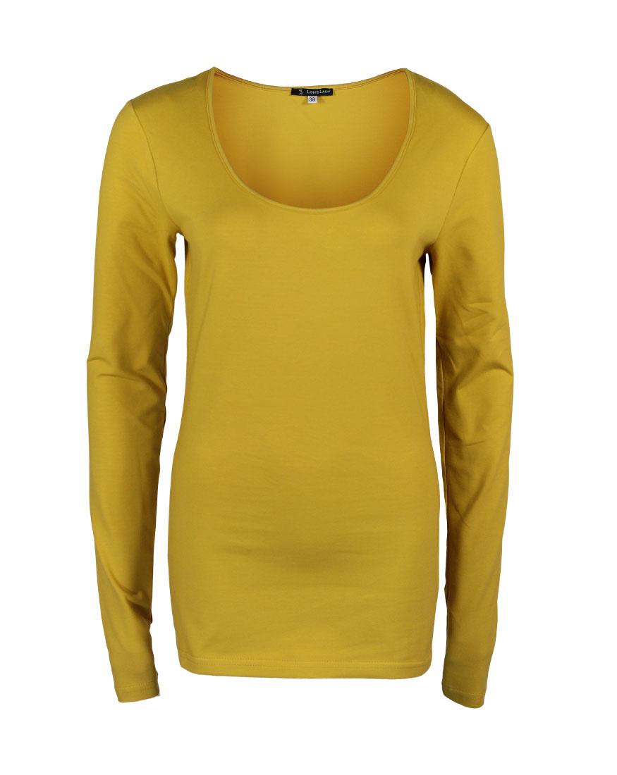Tall Longlady Shirt Trudy Yellow Longlady Fashion