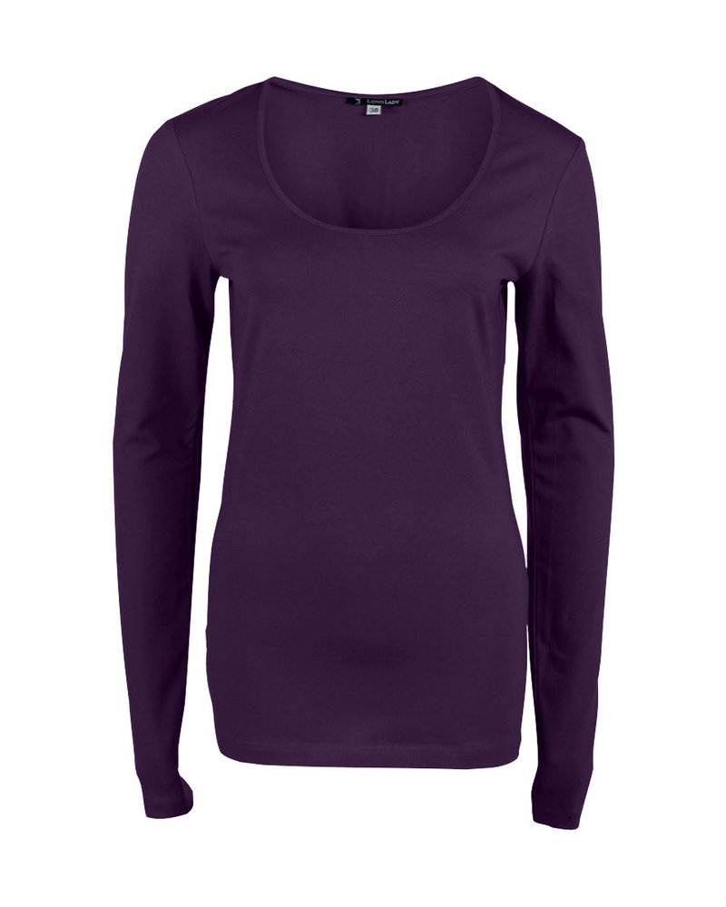 Longlady Shirt Trudy Purple