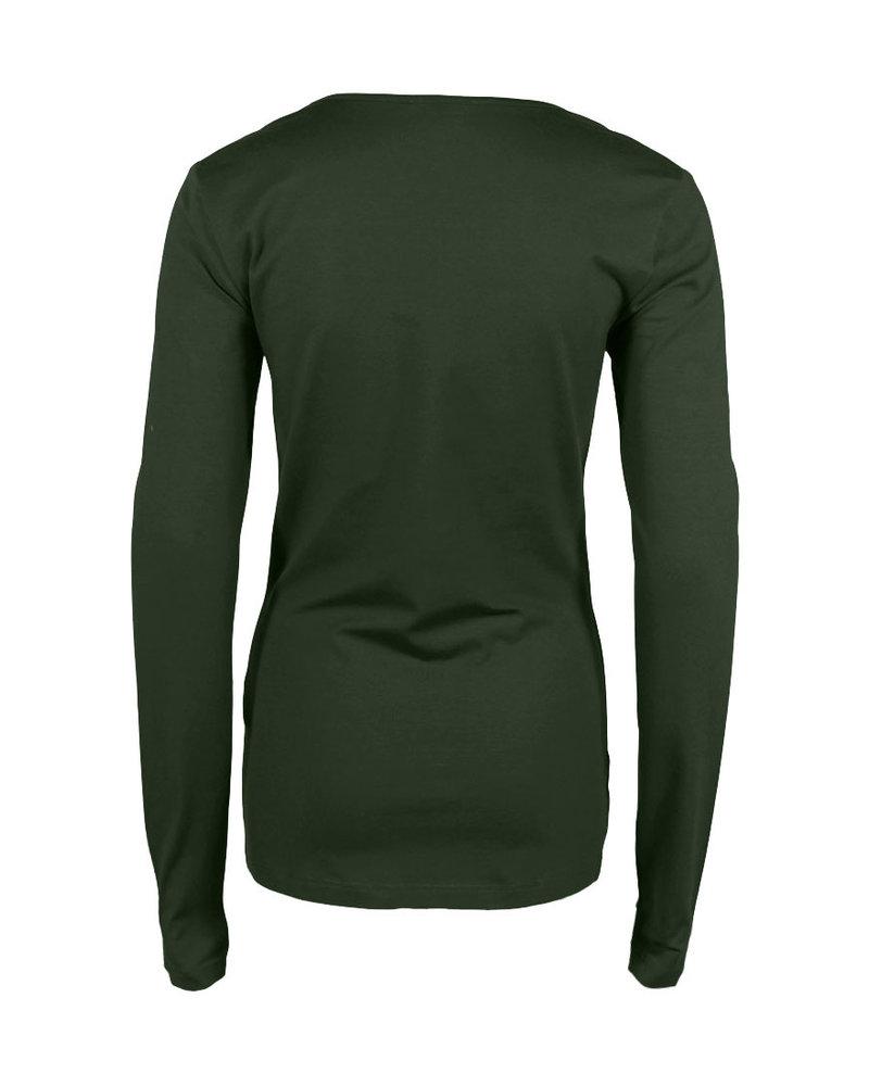 Longlady Shirt Trudy Khaki