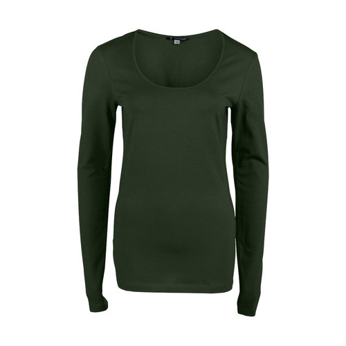 Longlady Longlady Shirt Trudy Khaki