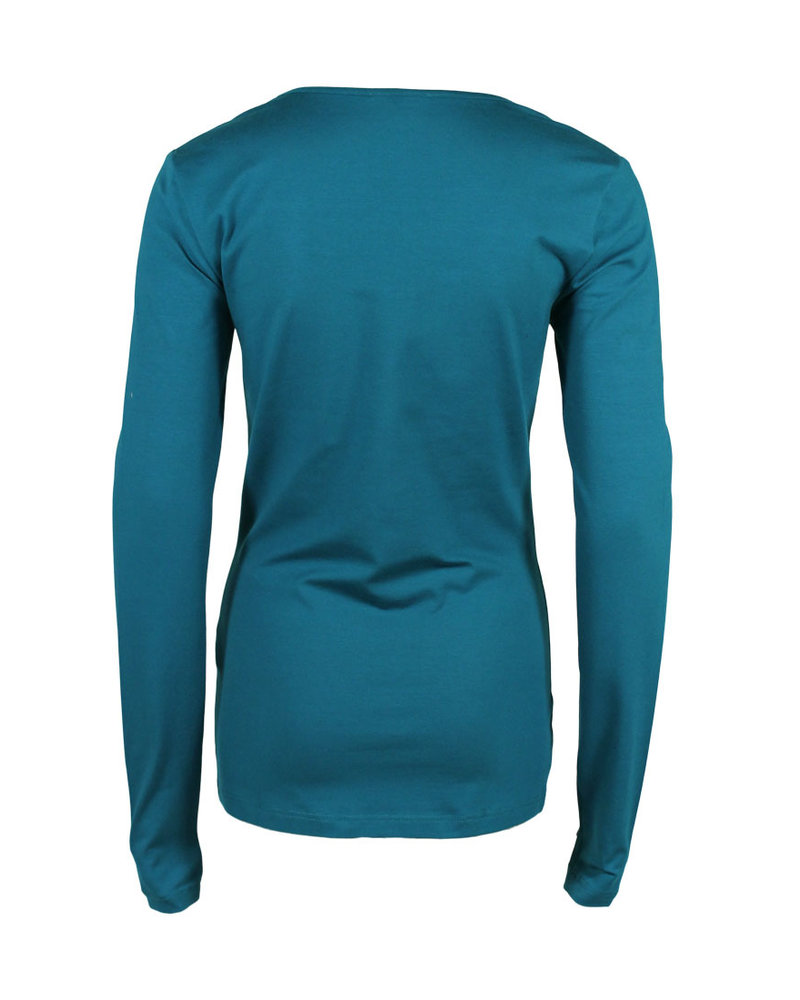 Longlady Shirt Trudy Petrol