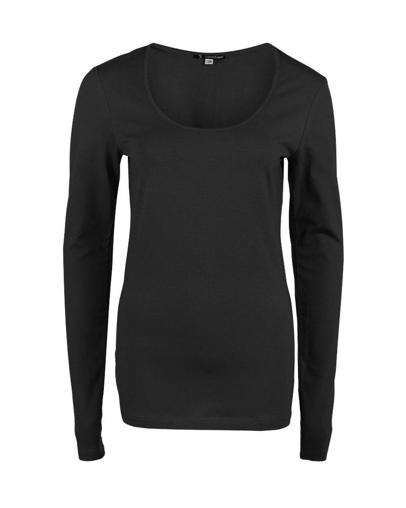 Longlady Shirt Trudy Black