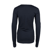 Longlady Shirt Trudy Donkerblauw