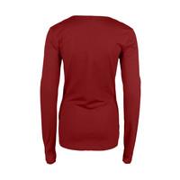 Longlady Shirt Trudy Rood
