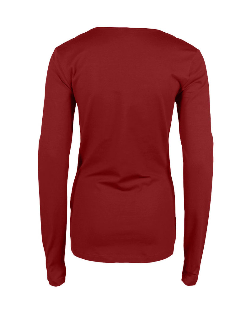 Longlady Shirt Trudy Red