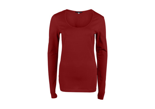 Longlady Longlady Shirt Trudy Red