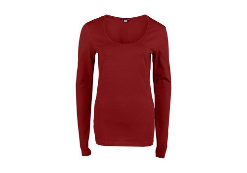 Longlady Longlady Shirt Trudy Rood