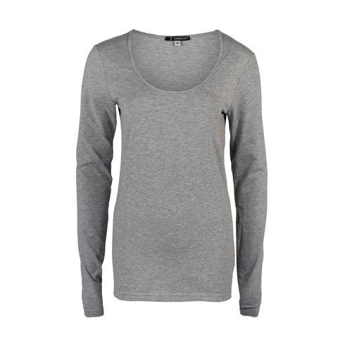 Longlady Longlady Shirt Trudy Grey