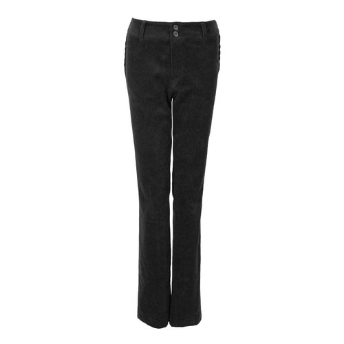 Longlady LongLady Trousers Breena Cord Black