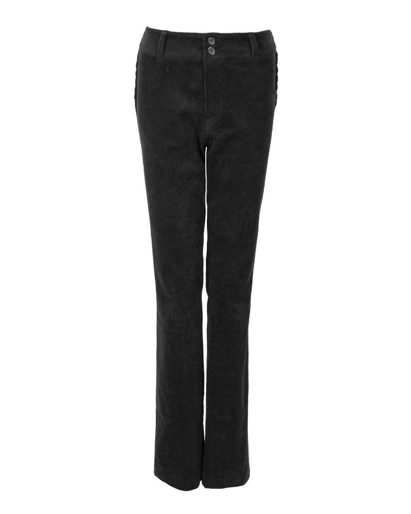 LongLady Trousers Breena Cord Black