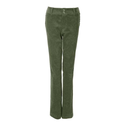 Longlady LongLady Trousers Breena Cord Khaki