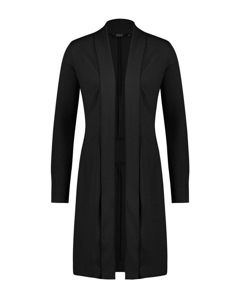 Chiarico Vest Zwart