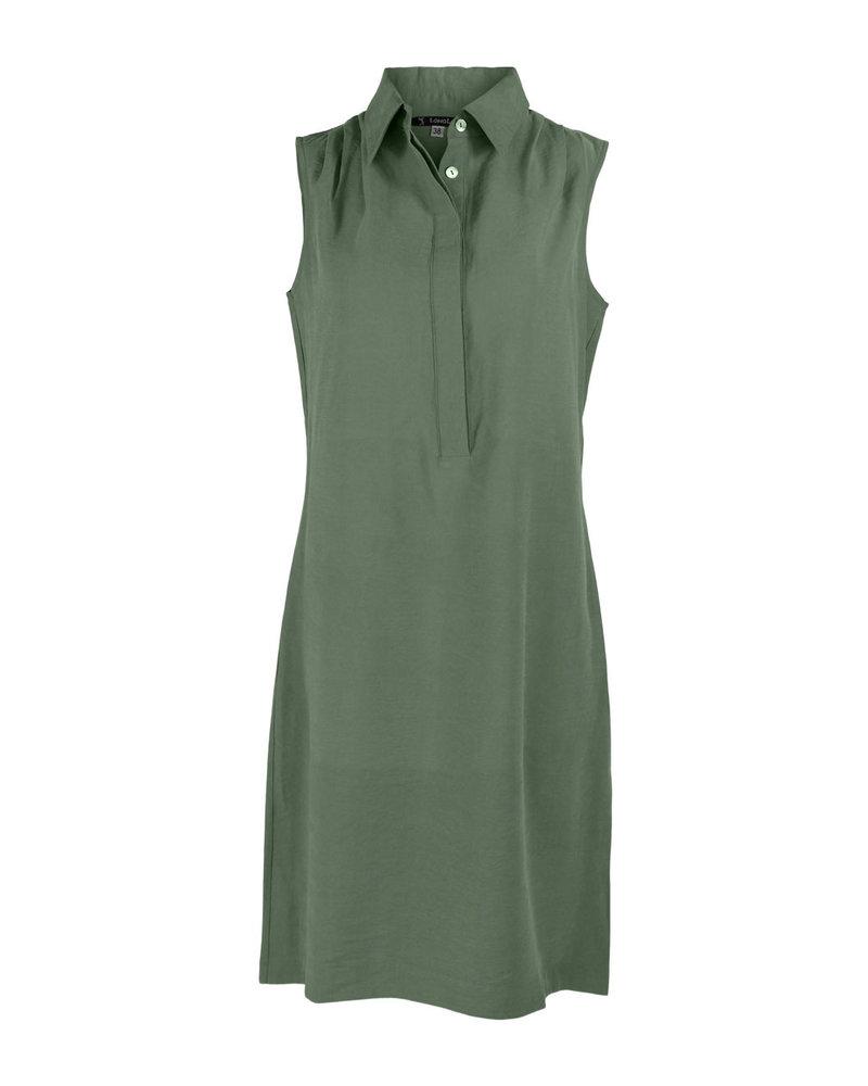Longlady Dress Jolijn Khaki