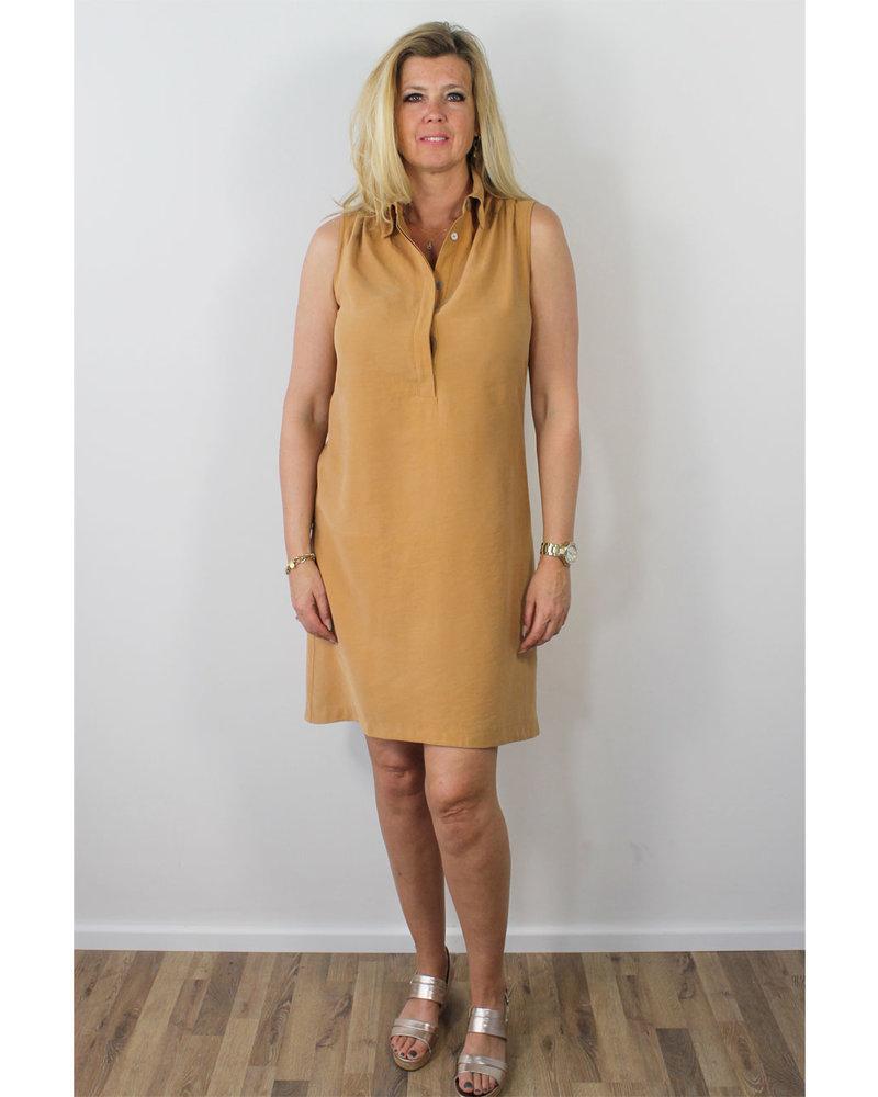 Longlady Dress Jolijn Mustard