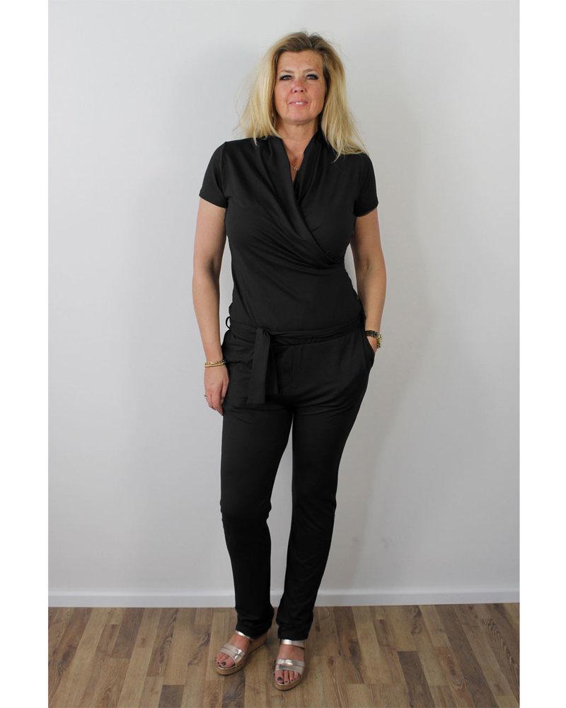 Longlady Jumpsuit Brigit Black