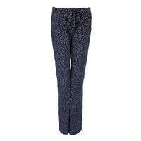 Longlady Pyjamabroek Paulien Blauw Stip