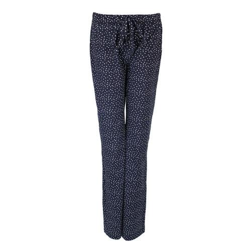 Longlady Longlady Pyjamabroek Paulien Blauw Stip
