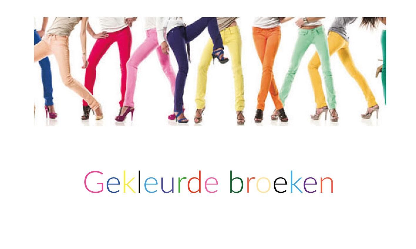 Gekleurde broeken geven je garderobe kleur, en ook je humeur