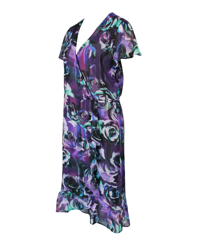 Longlady Dress Joliann Purple dessin