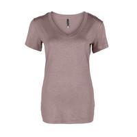 Longlady Shirt Tinie Nude Sparkle