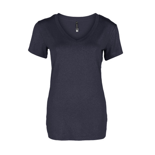 Longlady Longlady Shirt Tinie Darkblue Sparkle