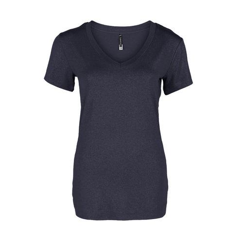 Longlady Longlady Shirt Tinie Donkerblauw Sparkle