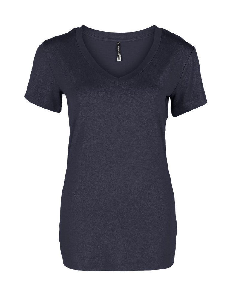 Longlady Shirt Tinie Darkblue Sparkle