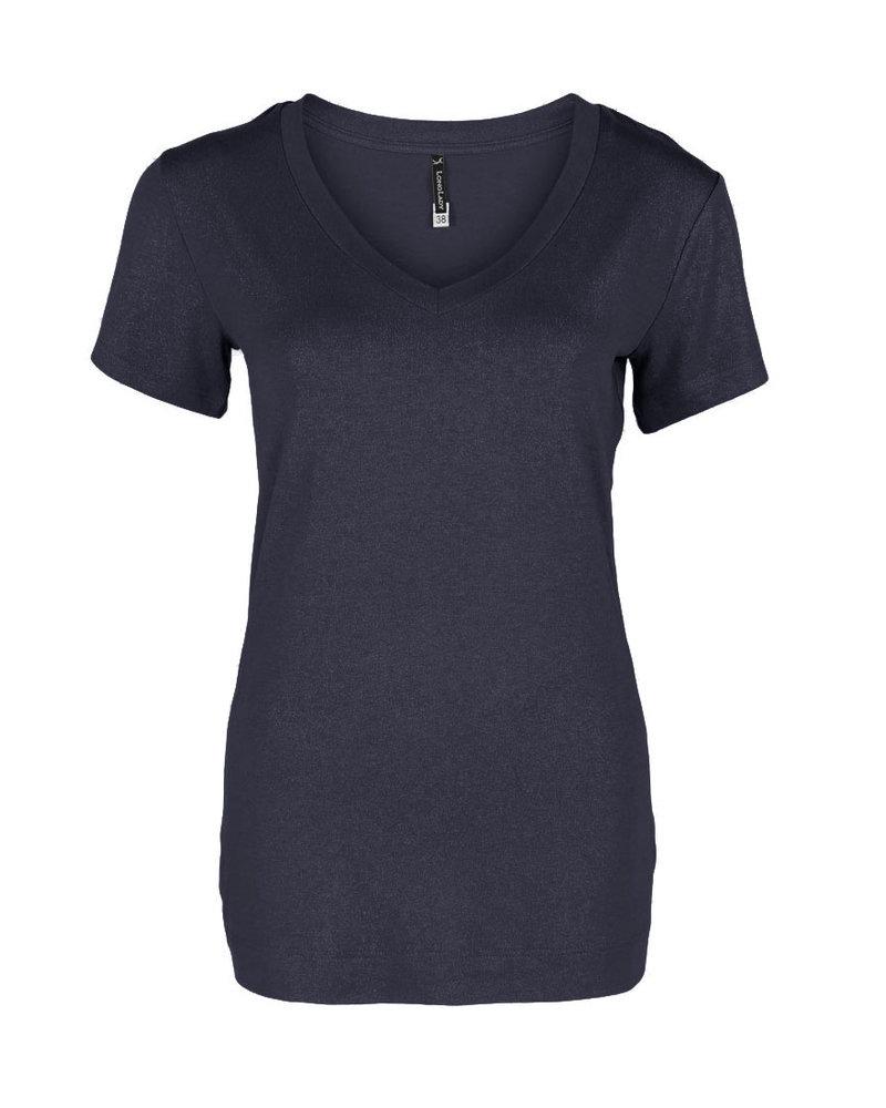 Longlady Shirt Tinie Donkerblauw Sparkle