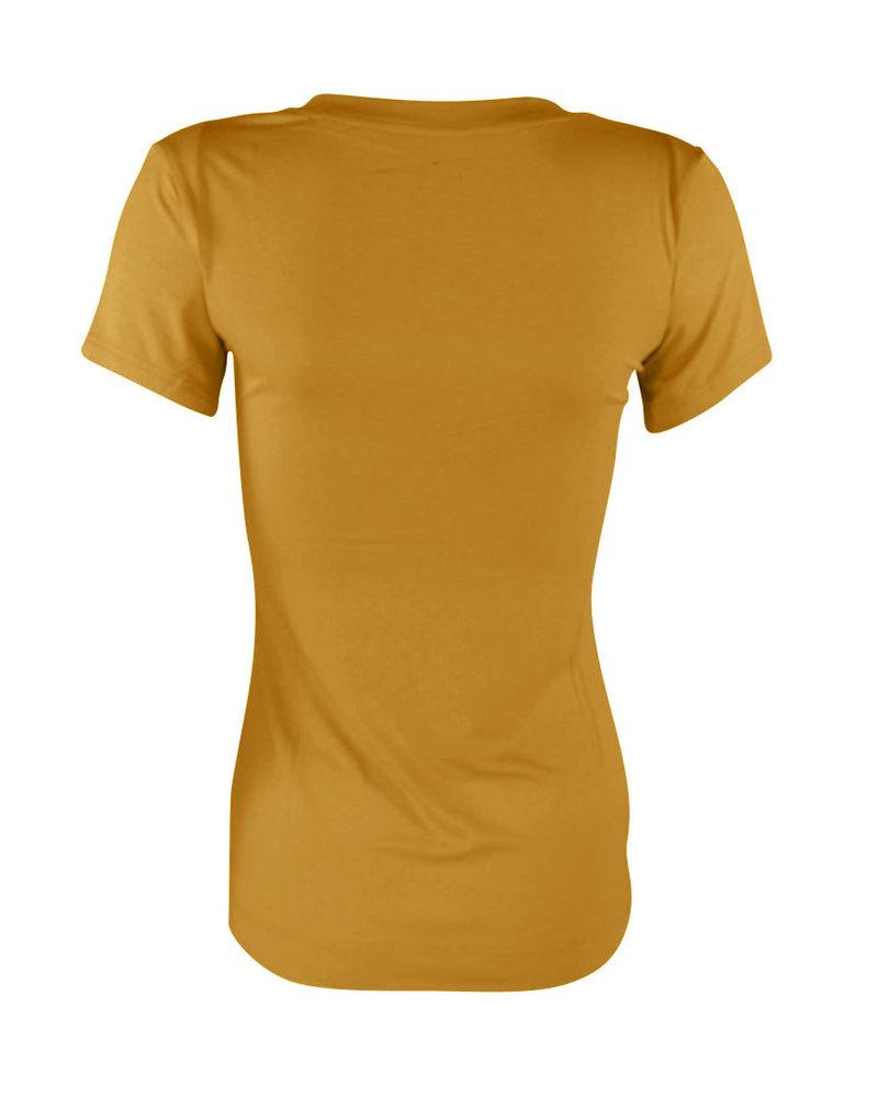Longlady Shirt Trinka Oker