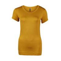 Longlady Shirt Trinka Ocre
