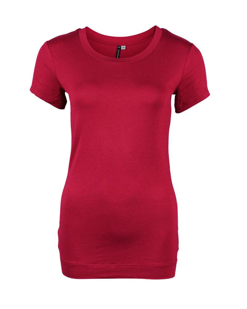 Longlady Shirt Trinka Cherry