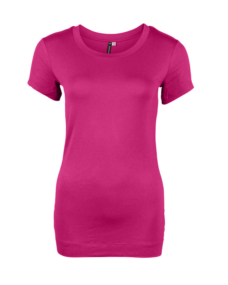 Longlady Shirt Trinka Roze
