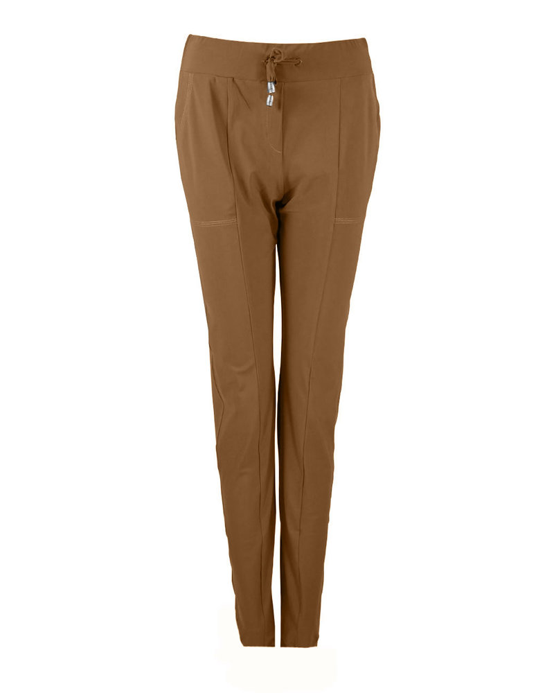 Only-M Trousers Sporty Chic Camel