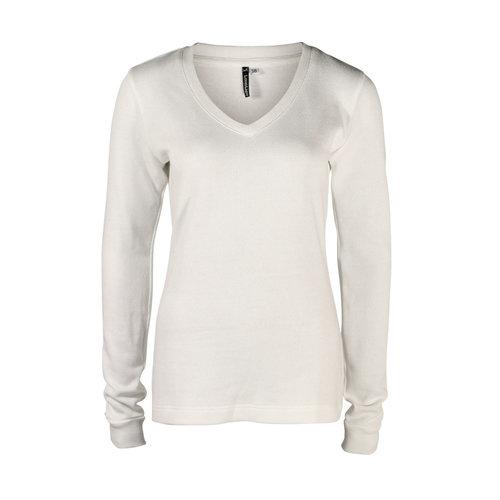 Longlady Longlady Sweater Felicia Creme