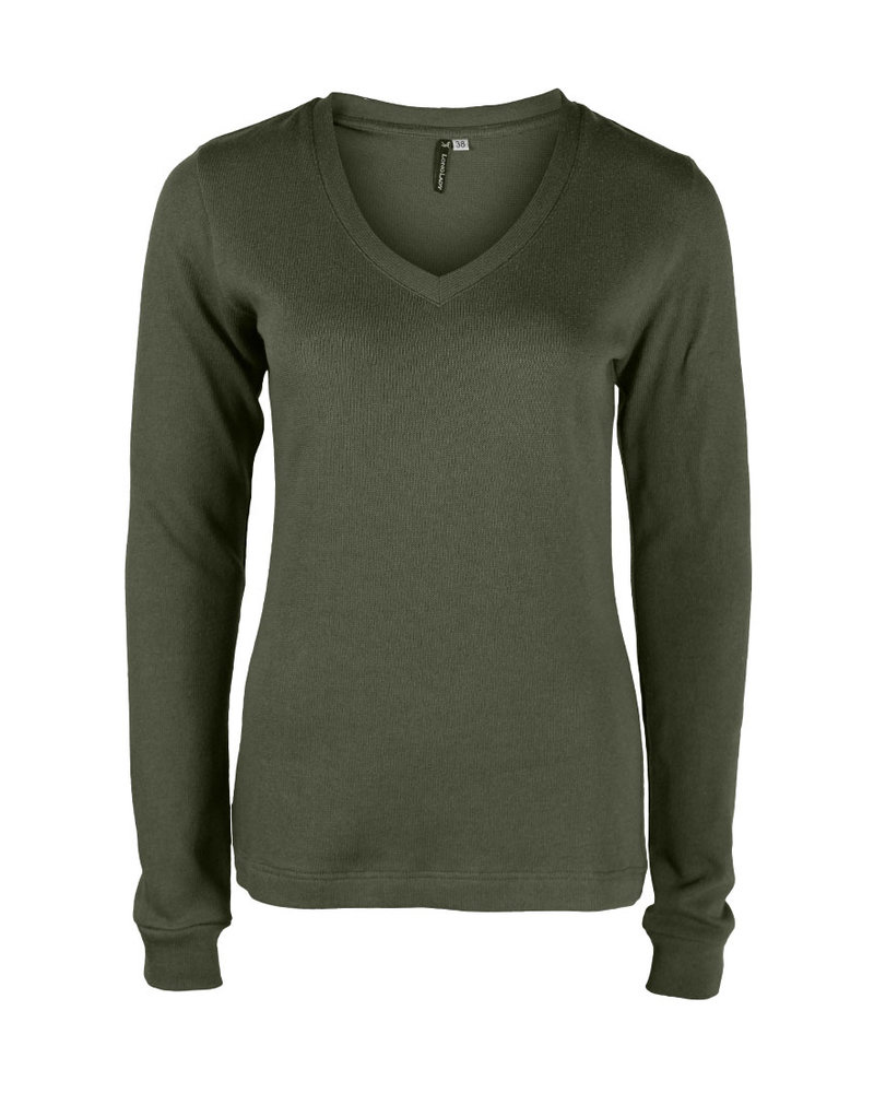 Longlady Sweater Felicia Khaki