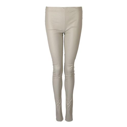 Longlady Legging Lara Leather Beige