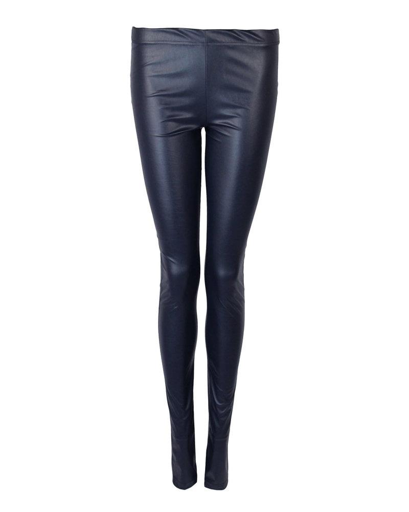 Legging Lara Leather Blauw