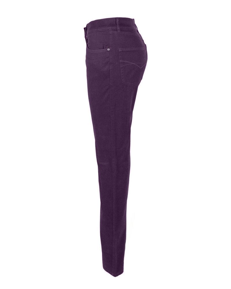 Bloomers Trousers Lisa Su Aubergine