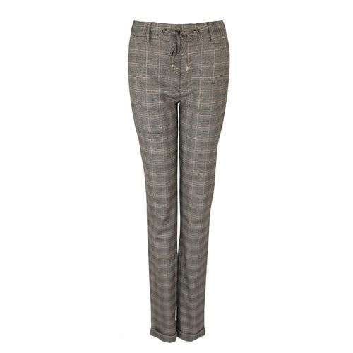 CMK CMK Trousers Mona Brown checks