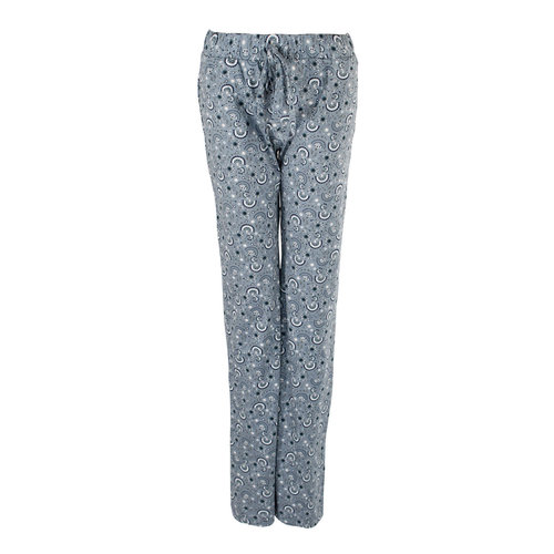 Longlady Longlady Pajama pants Paulien Blue dessin