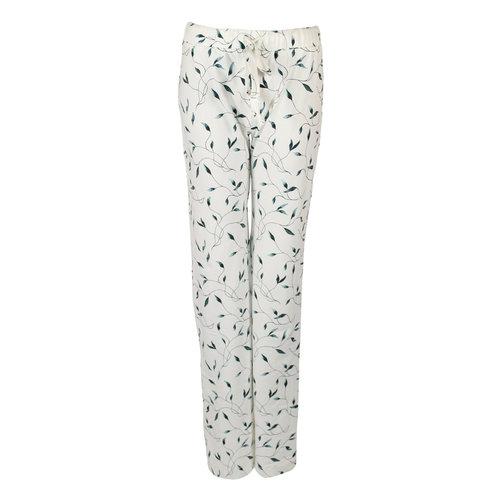 Longlady Longlady Pajama pants Paulien Offwhite feater