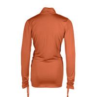 Longlady Wikkelshirt Floor Oranje