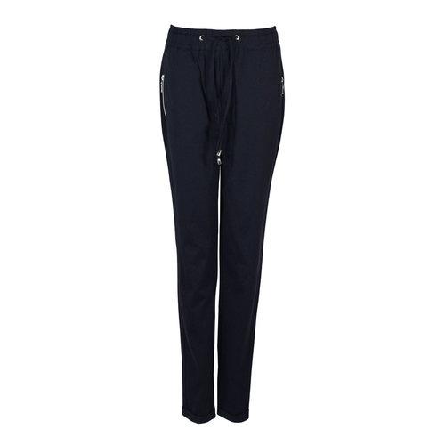 CMK CMK Trousers Mona Zip Darkblue