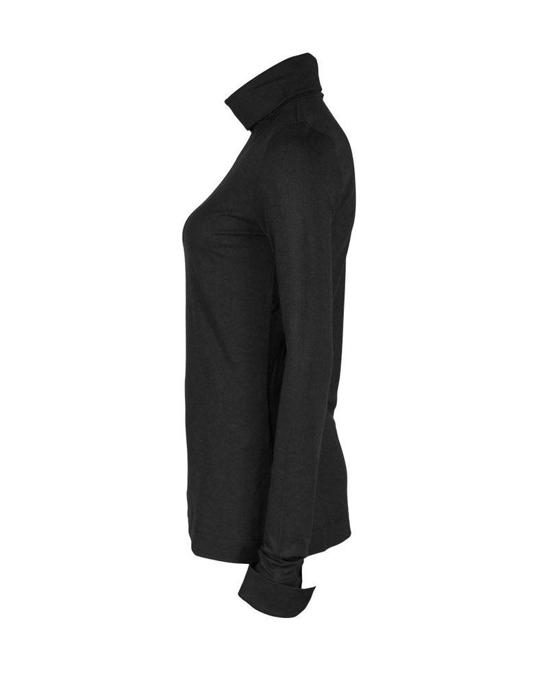 Chiarico Shirt Cuff Zwart