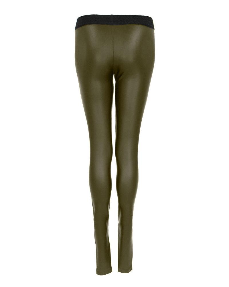 Only-M Legging Jeather Khaki