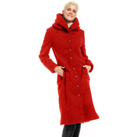 Only-M Jas Boucle Melange Rosso