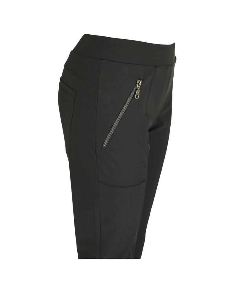 Only-M Trousers Sporty Zip Strong Nero