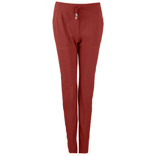 Only-M Only-M Trousers Sporty Chic Bordeaux